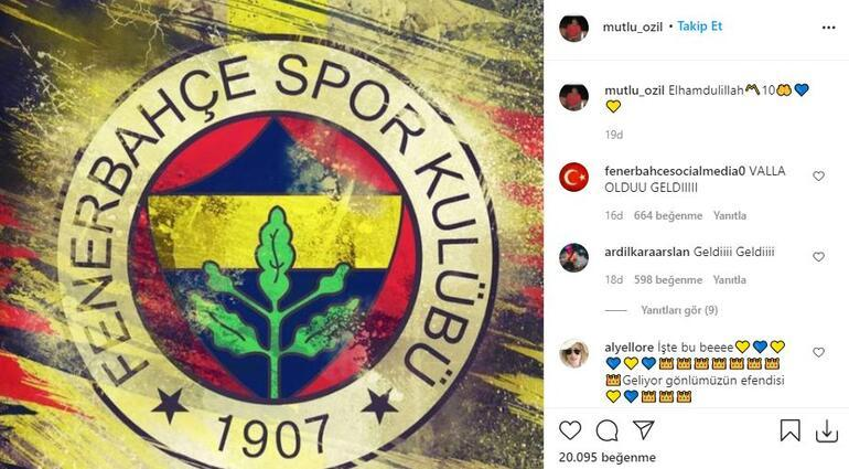 Mesut Özil, abisinin Fenerbahçe paylaşımını beğendi! Heyecanlandıran fotoğraf... - Son Dakika Spor Haberleri
