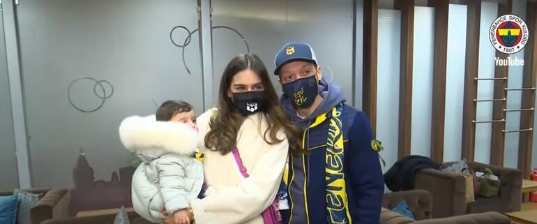 Son Dakika | Fenerbahçenin yeni transferi Mesut Özil, İstanbula geldi 312 bin kişi...