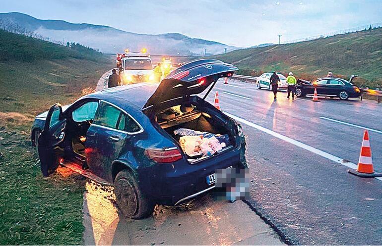 Arabası takla attı Tolgahan Sayışman ölümden döndü...