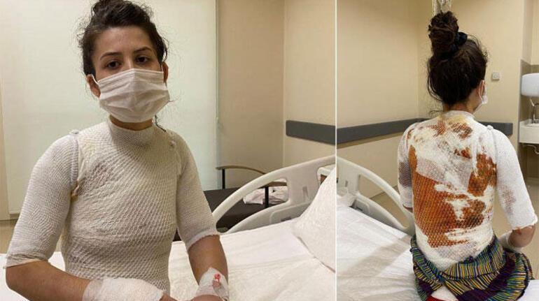 Eşine ve kızına dehşeti yaşatmıştı... Ve tutuklandı