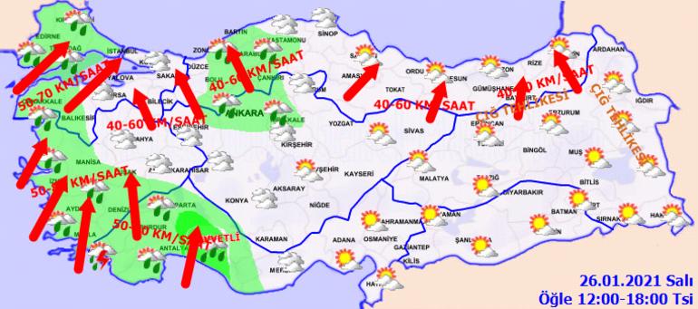 Yoğun kar yağışı geliyor: Meteoroloji saat vererek uyardı İstanbula kar yağacak mı