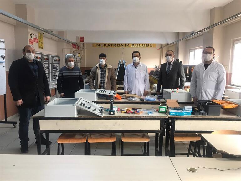 Türkiye rekoru bu okulda... Yaptıkları makineyle 2020nin en çok gelir elde eden lisesi oldu