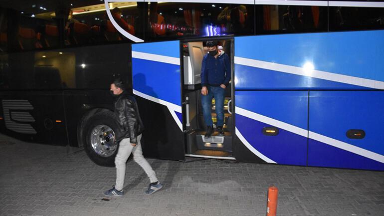 Kırıkkalede yolcu otobüsünde koronavirüs alarmı Tüm yolcular karantinaya alındı