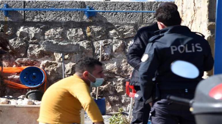 Balık tutarken yakalanan kurye ceza yiyeceğini düşünüp gözyaşı döktü
