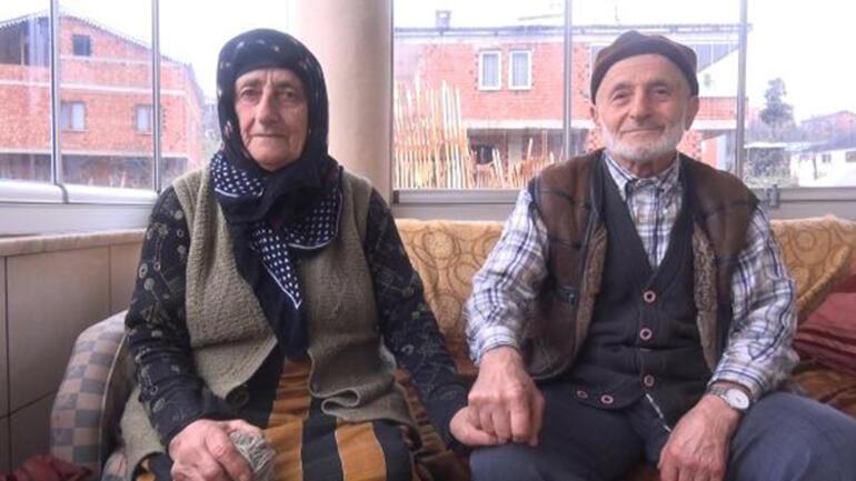 65 yıllık eşine Sevgililer Günü için buzağı hediye etti