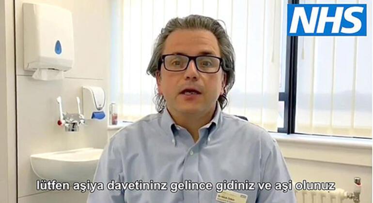 Türk doktordan çağrı: 'Aşınızı mutlaka olun'