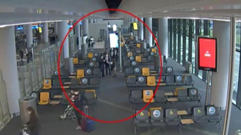 Terör şüphelisi İstanbul Havalimanında böyle yakalandı