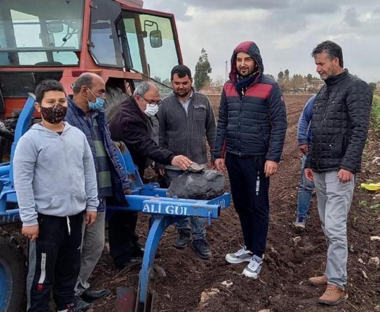 Adanada heyecan yaratan gök taşı iddiası