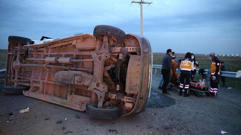 Diyarbakırda feci kaza 10 kişi yaralı