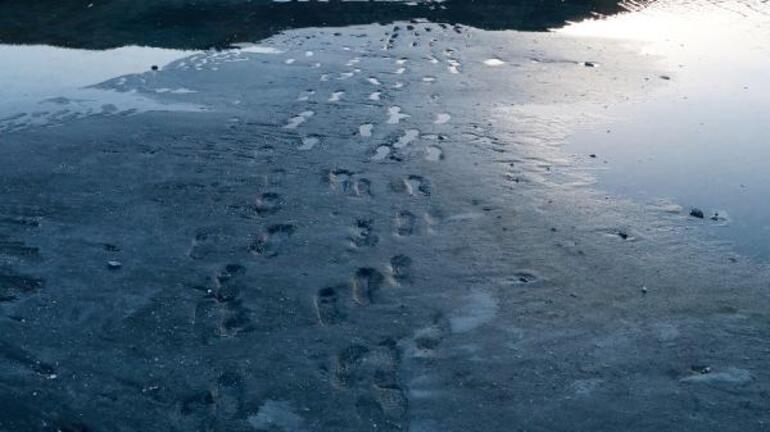 Türkiye Maldivleri Salda Gölünde korkutan görüntü