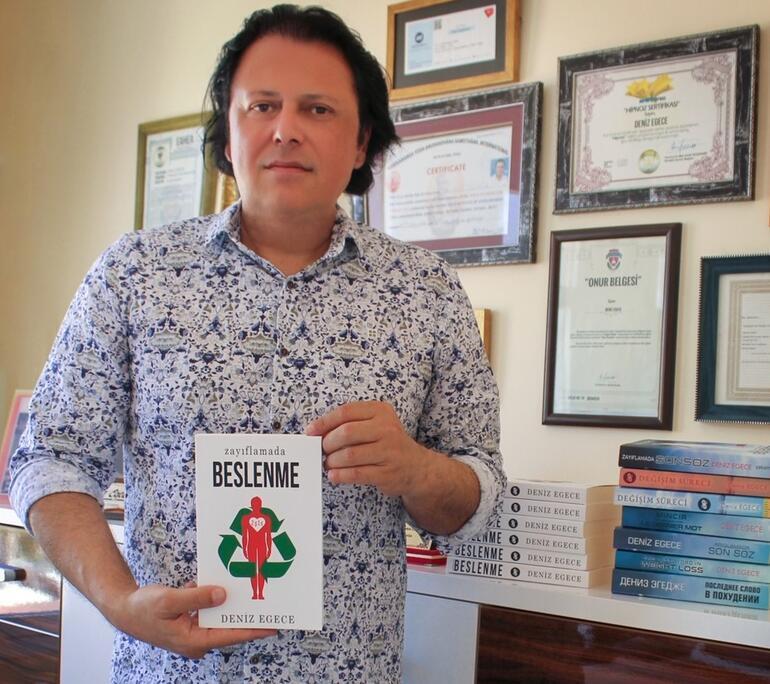 Deniz Egece'den kilo sorununa online çözüm