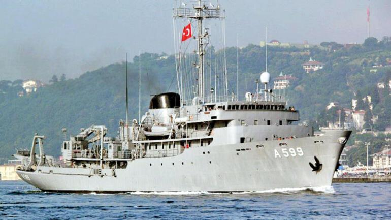 Son dakika... Yunan savaş uçaklarından Türk gemisine taciz