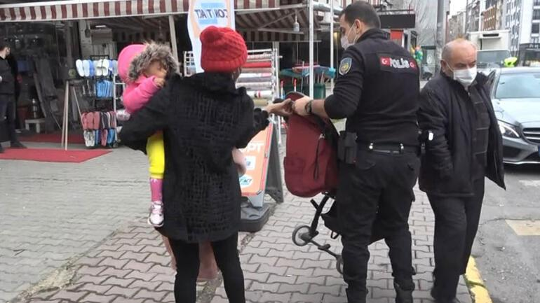 Bebek arabasındaki çantası kaybolan kadın gözyaşlarına boğuldu