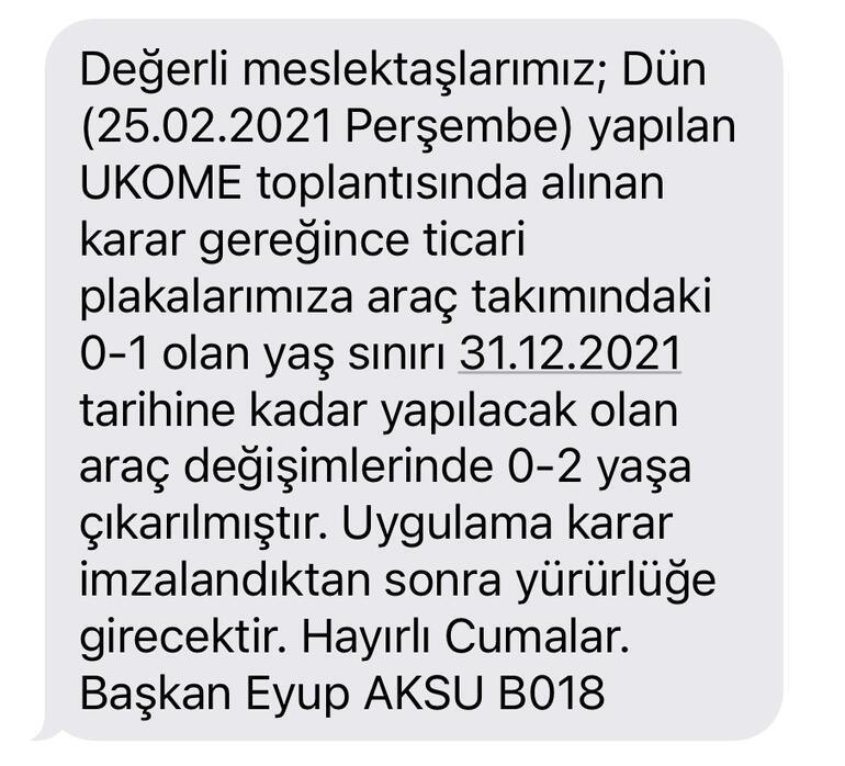 İstanbul taksilerinde yeni dönem Eski araçlar ticari taksi olacak