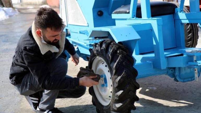 Yerli Elon Musk tekne motorundan traktör yaptı