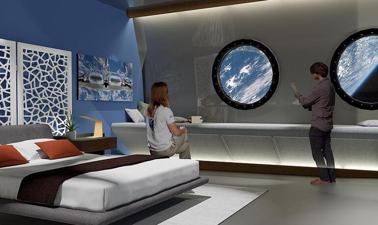 Dünyayı meraklandıran haber İlk uzay otelinin açılacağı tarih belli oldu