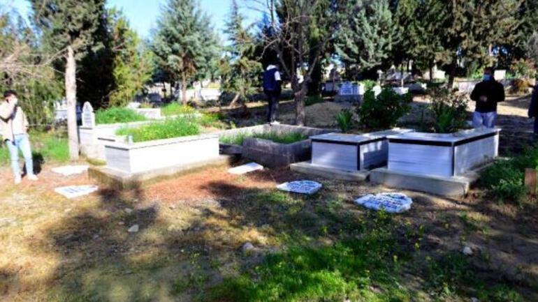 Adanada tepki çeken olay Şehitlerin mezarlarına zarar verilmesiyle ilgili flaş gelişme