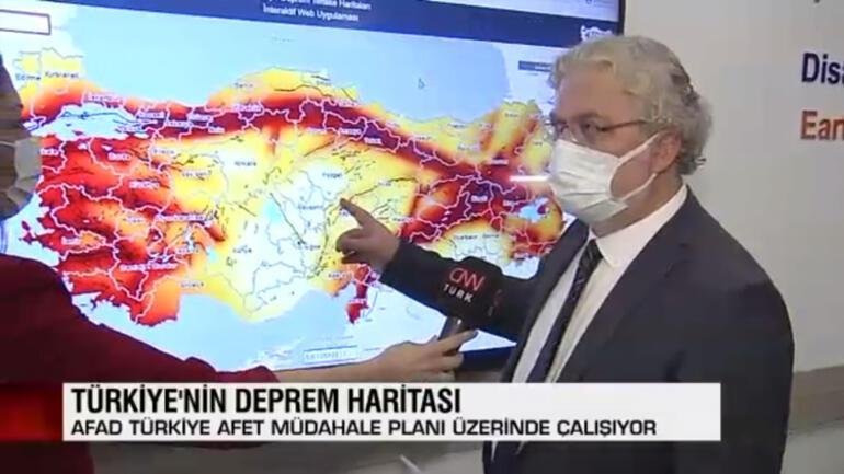 İstanbul için harekete geçildi Bir harita da AFADdan geldi...