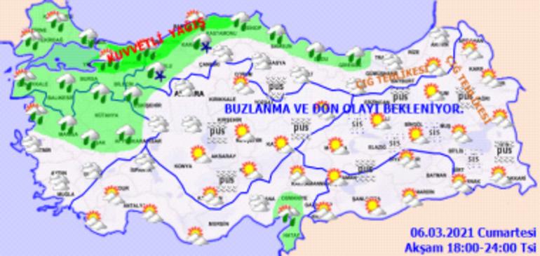 Meteoroloji bölge bölge uyardı Sıcaklıklar bir anda düşecek... İstanbul için saat verildi
