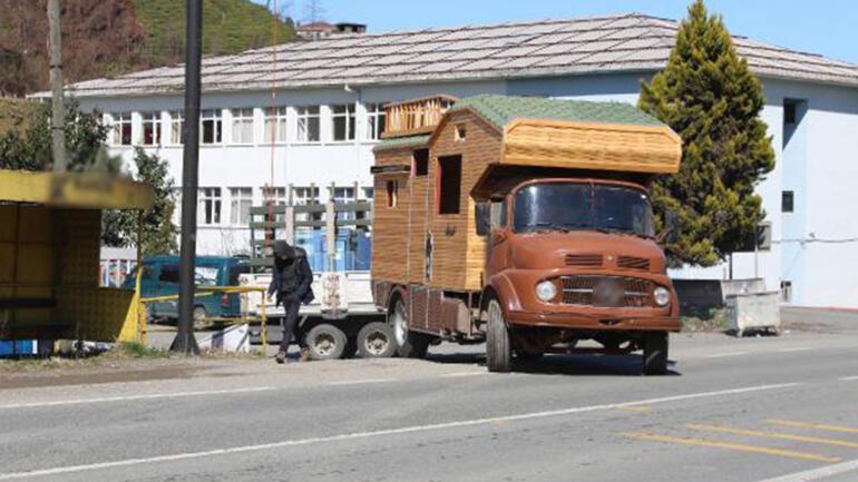 Taşınabilir karavan tipi yayla evlere ilgi arttı