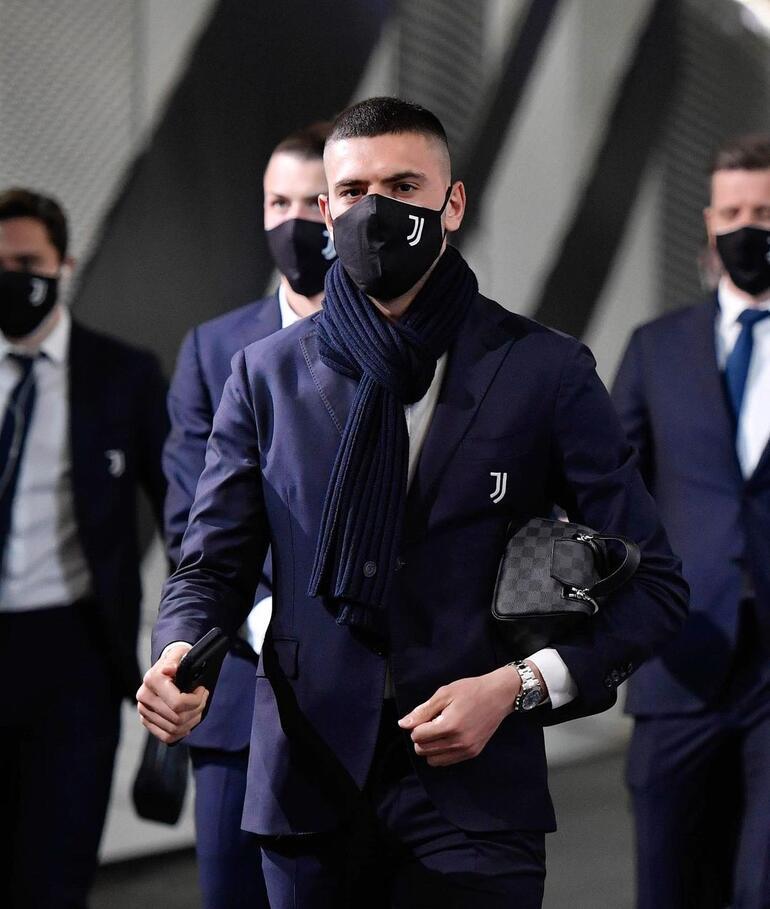 Juventusta sıcak saatler Merih Demiral...