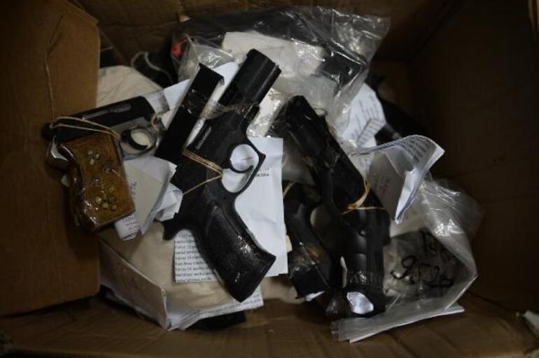Adalet Sarayının adli emanet deposundaki silah FETÖ tutuklusu işadamı İhsan Yarkına aitmiş