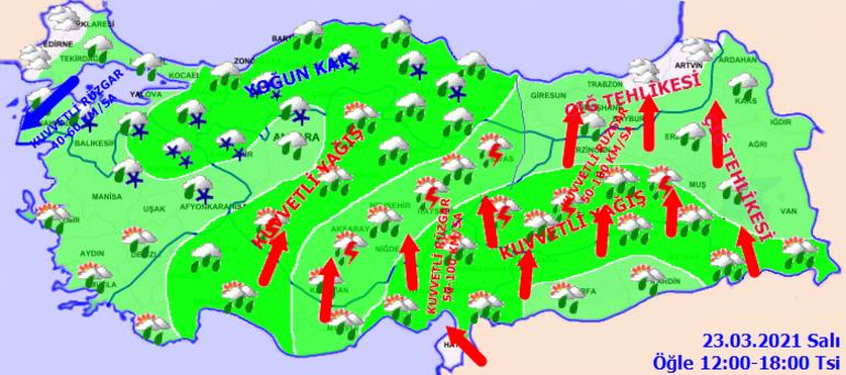 Meteorolojiden son dakika hava durumu uyarısı Vatandaşlardan battaniyeli önlem