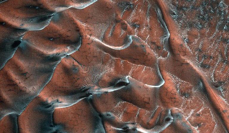 NASA yayınladı: Marstan yeni görüntü