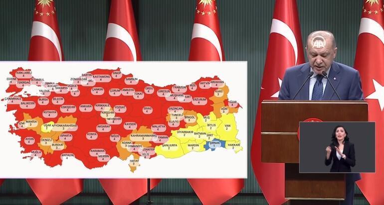 Son dakika haberi: Cumhurbaşkanı Erdoğan açıkladı İşte yeni koronavirüs kararları