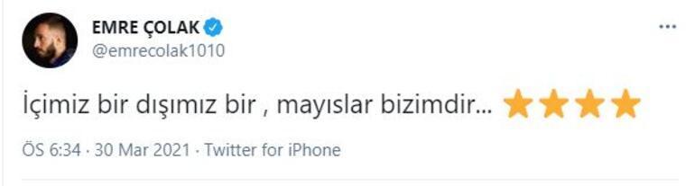 Emre Çolakın paylaşımı Fatih Karagümrükten de tepki çekti Süleyman Hurma...