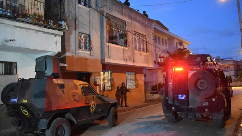 Adanada PKK/KCK operasyonu 8 kişi yakalandı