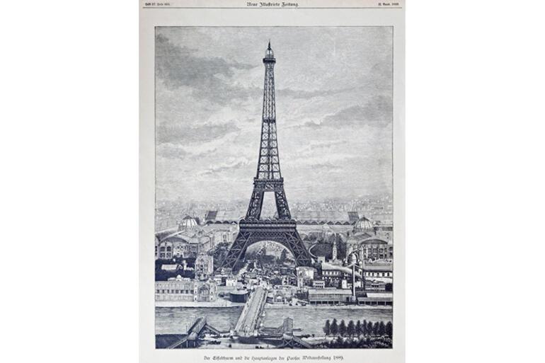 Eyfel Kulesinin ilginç hikayesi: Geçici olarak yapılmıştı