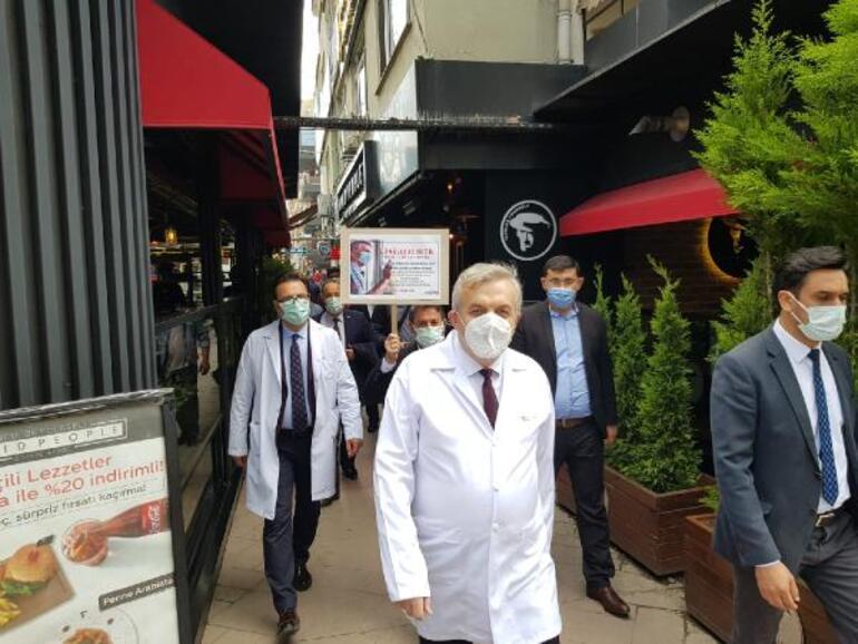 Kocaelide kafe ve restoranlara sıkı denetim İl sağlık müdürü tek tek gezdi
