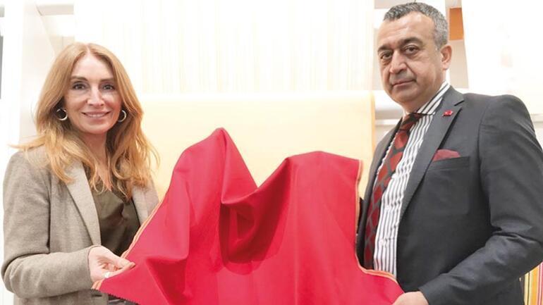 Gaziantep'ten dünyaya Türk kumaşı