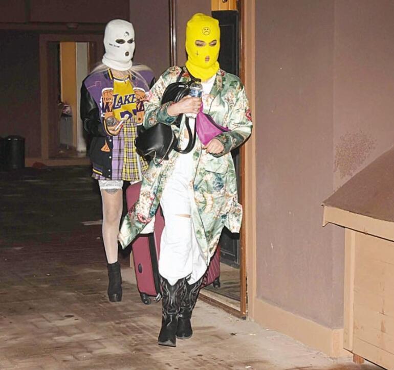 """""""Bu kadarı da olmaz"""" Kar maskeli korona partisi"""