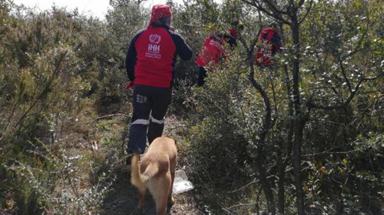 Çekmeköyde AFAD ve AKUT ormanda kayıp kişiyi arıyor