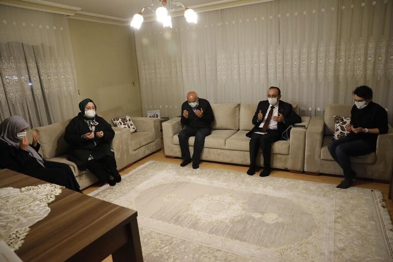 Επίσκεψη στην οικογένεια μαρτύρων και βετεράνων της Κύπρου από τον υπουργό Selçuktan