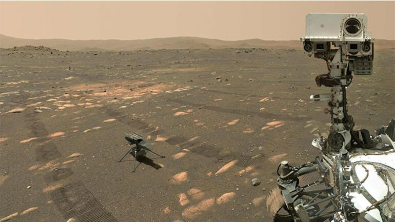 Ingenuity: NASA Marstaki helikopterini ilk kez uçurmayı deneyecek