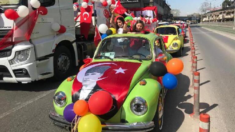23 Nisan tüm Türkiyede coşkuyla kutlandı