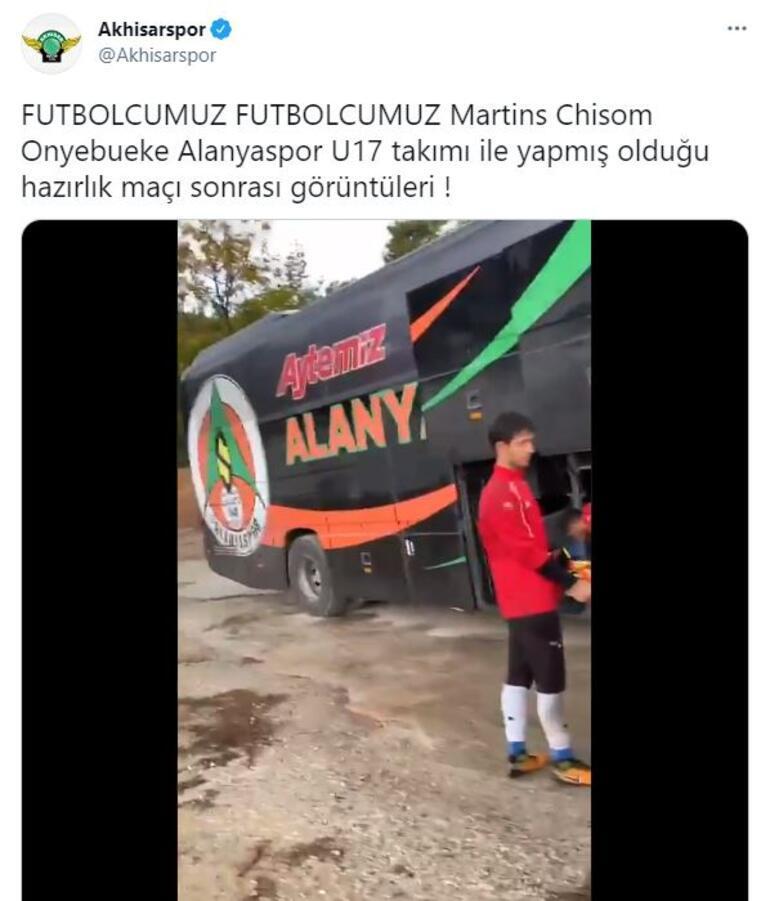 Last minute: Official statement alleging fake football player Akhisarspordan Martins Chisom Onyebueke ...