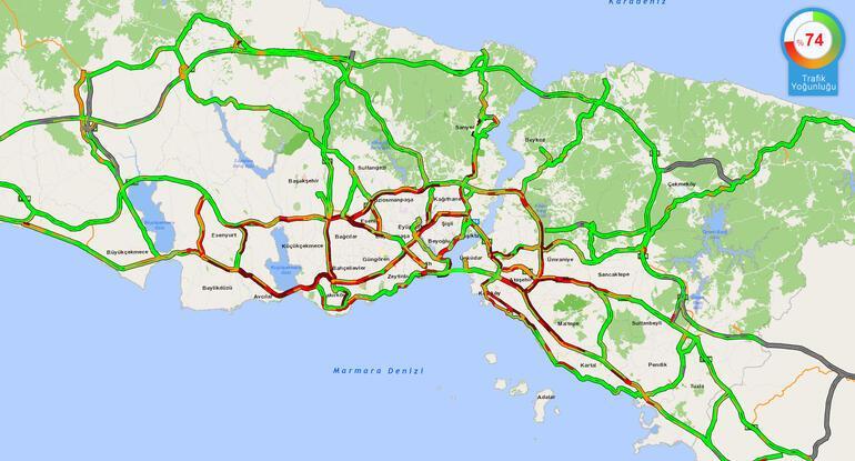 Son dakika... İstanbuldan tam kapanma göçü Trafik kilitlendi