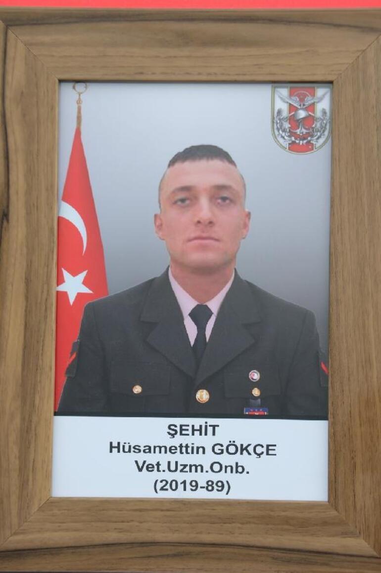 Şehit Uzman Onbaşı Hüsamettin Gökçe, Amasyada son yolculuğuna uğurlandı
