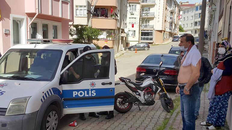Edirnede komşu dehşeti Bir anda neye uğradığını şaşırdı
