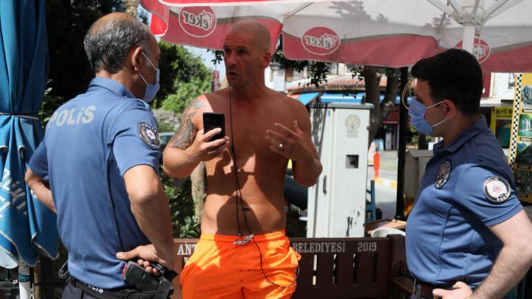 Antalyada ilginç anlar... Turistten ahlaksız teklif Gözaltına alındı