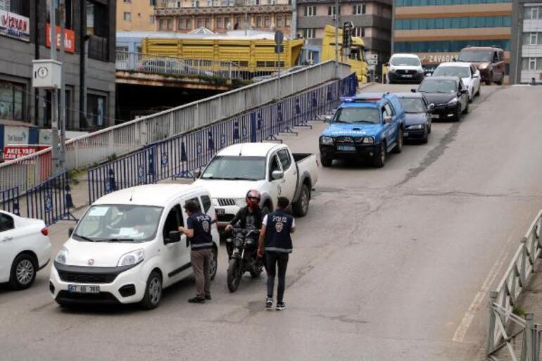 Vaka artışının en fazla olduğu Zonguldakta sıkı denetim