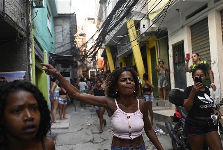 Brezilyada en kanlı baskın İnanılmaz görüntüler...