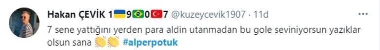 Son dakika: Alper Potukun Fenerbahçeye golü sonrası sevinci olay oldu
