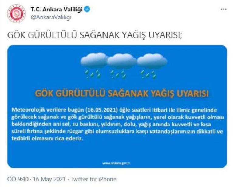 Son dakika: Meteorolojiden Marmara Bölgesi için yağış uyarısı