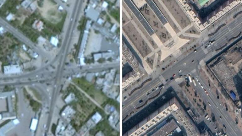 Gazze, Google haritalarında neden bulanık görünüyor