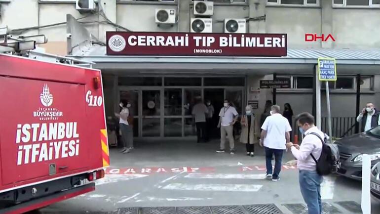 Son dakika: Çapada İstanbul Tıp Fakültesinde yangın paniği